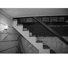 Basement Stairs Photographic Print