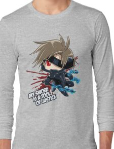 Metal Gear Rising - Raiden Long Sleeve T-Shirt