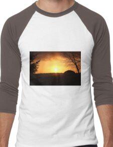 Tonight's Sunset Men's Baseball ¾ T-Shirt