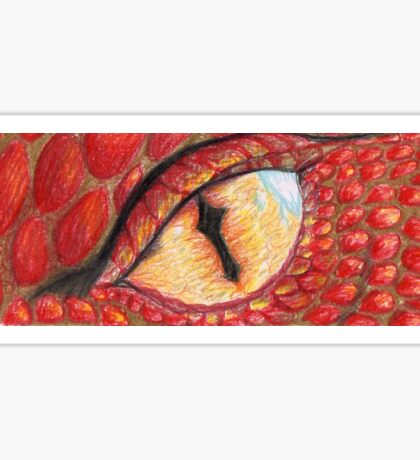 Smaug's eye Sticker