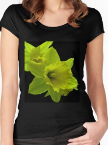 Daffodils Rejoicing Women's Fitted Scoop T-Shirt