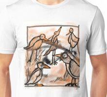 Meeting Of The Birds   Unisex T-Shirt