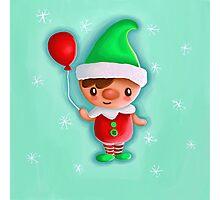 Winter Elf Photographic Print