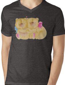 Teddy Bears Mens V-Neck T-Shirt
