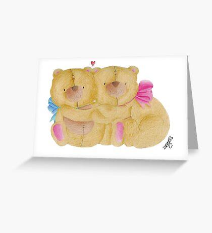Teddy Bears Greeting Card