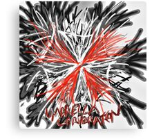 Messy umbrella corporation logo Canvas Print
