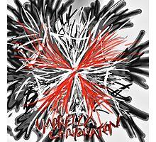 Messy umbrella corporation logo Photographic Print