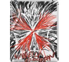 Messy umbrella corporation logo iPad Case/Skin