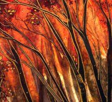 Autumn Blaze Sticker