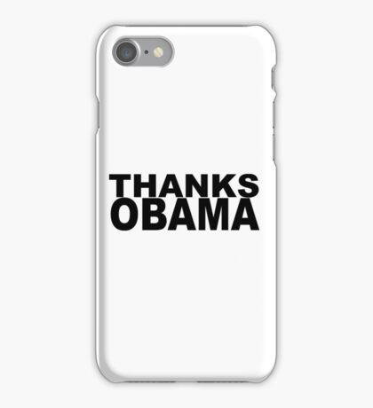 Thanks Obama iPhone Case/Skin