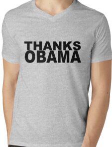Thanks Obama Mens V-Neck T-Shirt