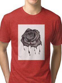 Dripping Rose Tri-blend T-Shirt