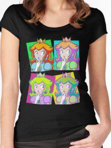 Pop Art Princess Women's Fitted Scoop T-Shirt
