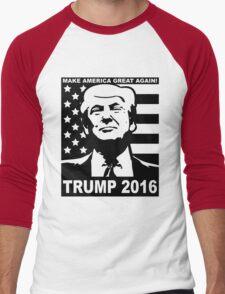 Trump 2016 Men's Baseball ¾ T-Shirt