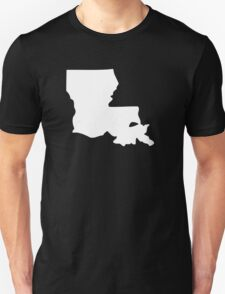 Louisiana maps T-Shirt