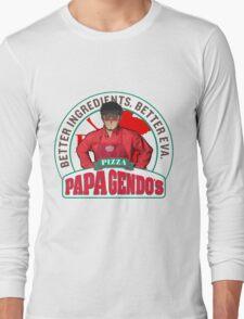 Papa Gendo's Pizza Long Sleeve T-Shirt