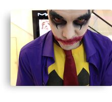 Dark Joker :) Canvas Print