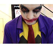 Dark Joker :) Photographic Print