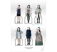 Joan Watson Paper Dolls Poster