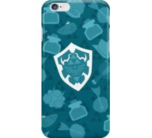 OOT Pattern Blue iPhone Case/Skin