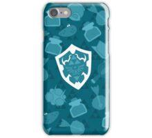 OOT Pattern Blue iPhone Case/Skin
