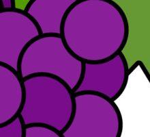 Simple Grapes Sticker
