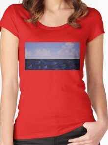 The Horizon Line Women's Fitted Scoop T-Shirt