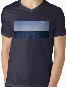 The Horizon Line Mens V-Neck T-Shirt