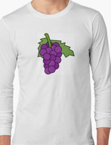 Simple Grapes Long Sleeve T-Shirt