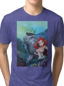The Shipwreck Mermaid Tri-blend T-Shirt