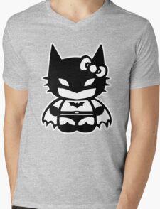 Batgirl Superhero Mens V-Neck T-Shirt