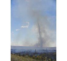 Fire Whirl Photographic Print