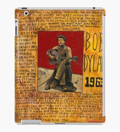 Dylan 1963 iPad Case/Skin