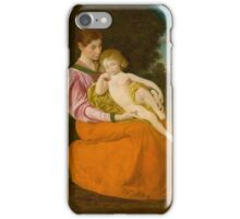 Mother and Child,  George De Forest Brush, American,  iPhone Case/Skin
