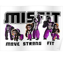 Misfit Gym Promotional Materials Poster