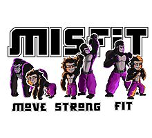 Misfit Gym Promotional Materials Photographic Print