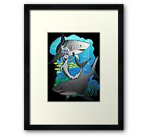 GreatWhites Framed Print
