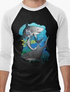 GreatWhites Men's Baseball ¾ T-Shirt