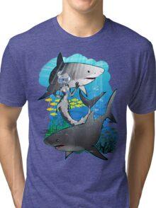 GreatWhites Tri-blend T-Shirt