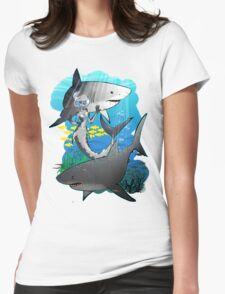 GreatWhites Womens Fitted T-Shirt