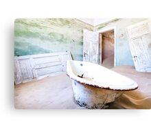 Sand Bath Canvas Print