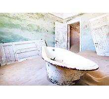 Sand Bath Photographic Print