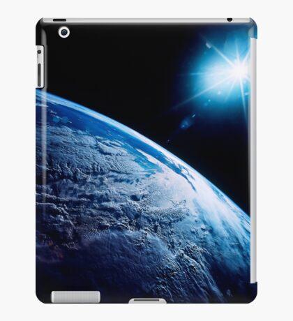 Shining star over Earth. iPad Case/Skin
