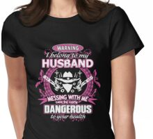I Belong To My Husband Womens Fitted T-Shirt