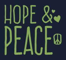 Hope and PEACE Kids Tee