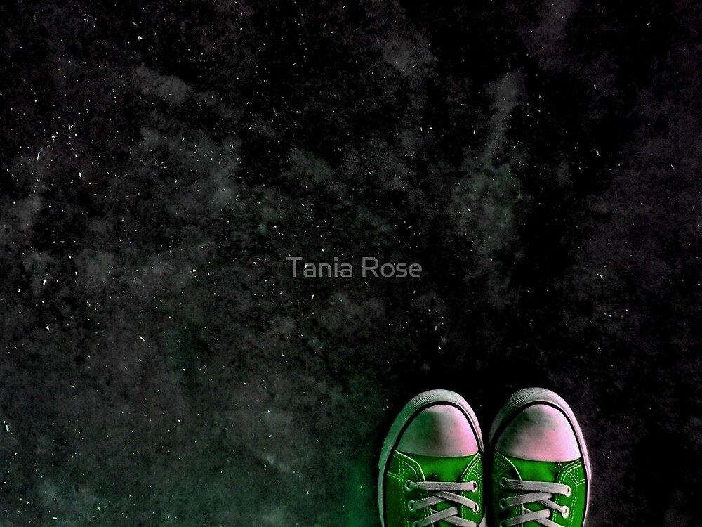 Skywalking In Green by Tania Rose