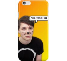 Phil Trash #1 Orange and Yellow iPhone Case/Skin