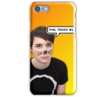 Phil Trash #1 Orange and Yellow iPhone Case/Skin