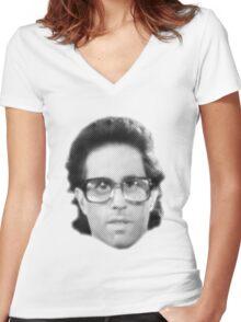 Seinfeld - Jerry's Glasses Women's Fitted V-Neck T-Shirt