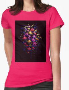 La Fluer Womens Fitted T-Shirt